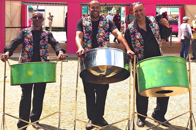 The Tropical Sunshine Steel Band