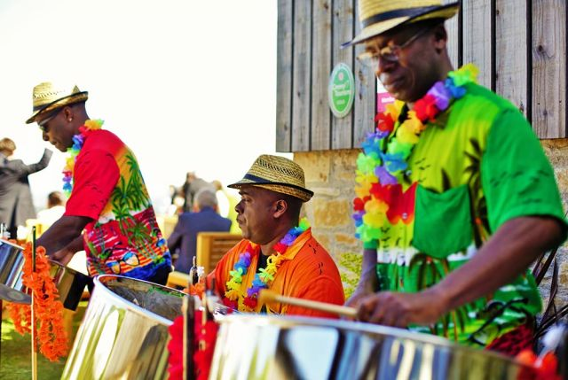 The Island Boys Steel Band